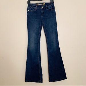 Seven7 Jeans Flare wide leg size 26